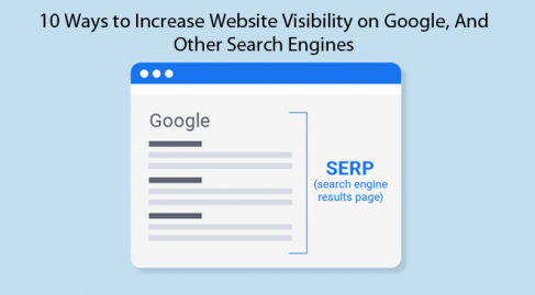 ways to increase website visibility