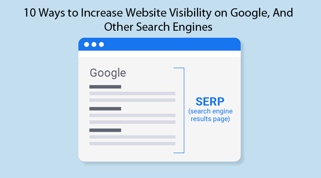 Increase Website Visibility on Google